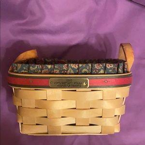 Longaberger Holiday Basket 🧺 of Thanks